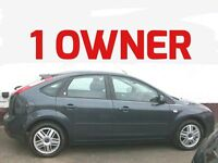 LOW MILEAGE 2006 FORD FOCUS 1.6 GHIA 1 OWNER