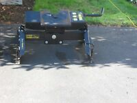 5th Wheel Hitch with Rails