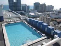 Condo à louer Miami Beach Floride, à deux pas de la mer