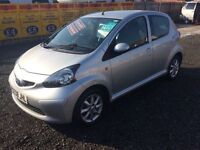 Toyota aygo platinum 1.0 engine 08 reg £20 road tax excellent condition £25 a week on finance