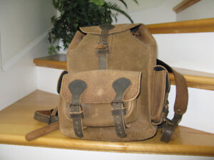 Cowboy Thick Leather Backpack - Custom Made in Europe