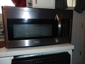 Stainless Steel Frigidaire Gallery Over Range Microwave