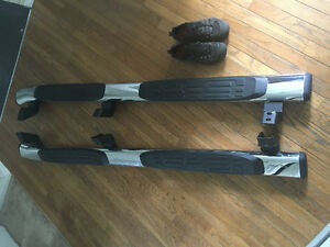 "Toyota Tacoma double cab OEM 6"" chrome running boards"