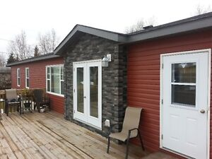 Newer Modular Home in Fishing and Hunting Area.