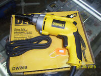 BRAND NEW DEWALT DW268 6.5 Amp Screwdriver