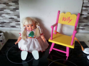 """16"""" Kelly Doll with Chair"""