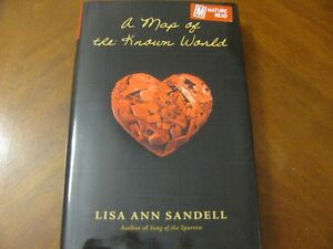 HARD  COVER  BOOK  WITH  JACKET  -  A  MAP  OF THE  KNOWN  WORLD