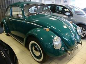 VOLKSWAGEN BEETLE 1300 DELUXE, CLASSIC 1966 SLOPING HEADLAMP MODEL, SUPERB,