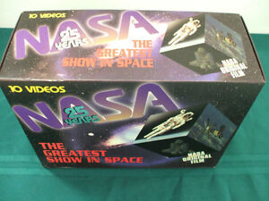 NASA The Greatest Show in Space Box Set of10 VHS tapes Peterborough Peterborough Area image 5
