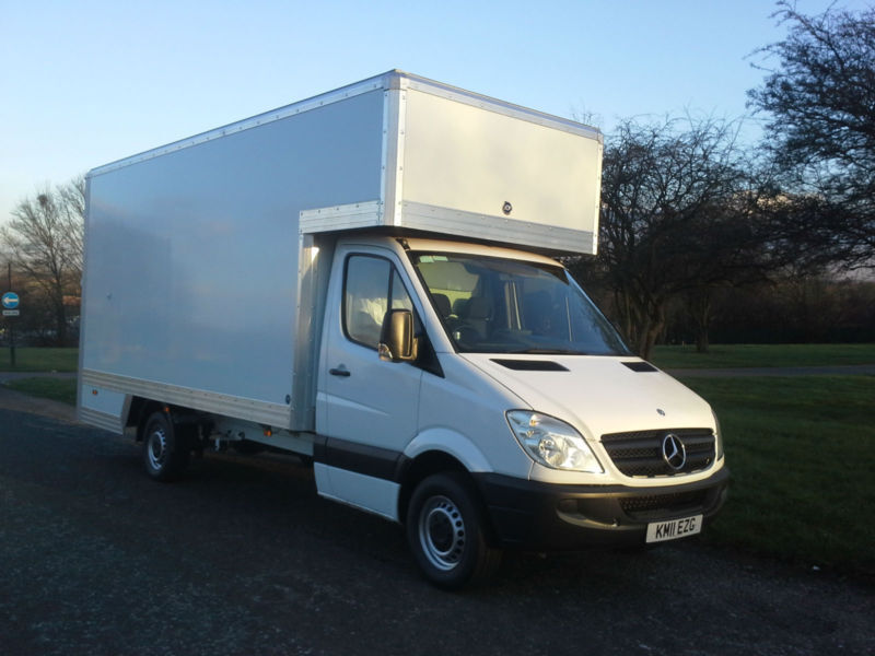 2011 Mercedes-Benz Sprinter 313 CDI LWB 16ft Dropwell Luton 130ps, Low Mileage
