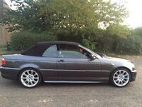 BMW 318CI M SPORT CONVERTIBLE £3200