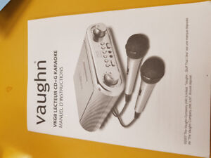Vaughn karaoke machine