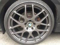 "19"" GENUINE BMW ALLOYS CSL STYLE CONCAVE ALLOYS FIT ALL BMW"
