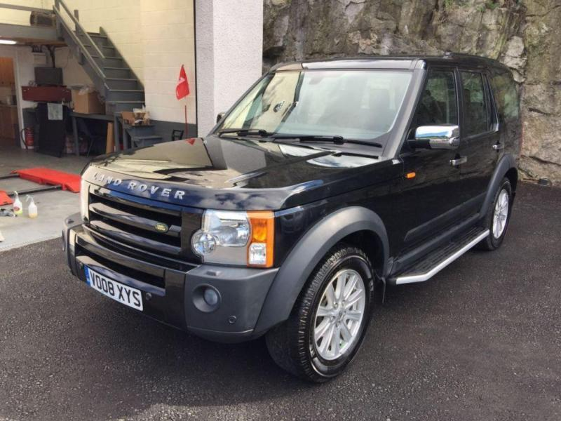 2008 08 LAND ROVER DISCOVERY 2.7 3 TDV6 SE 5D AUTO 188 BHP DIESEL