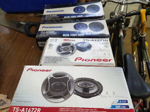 New Pioneer / Panasonic speakers