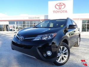 2014 Toyota Rav4 LTD NAVI ONLY 26,974 KMS TOYOTA CERTIFIED