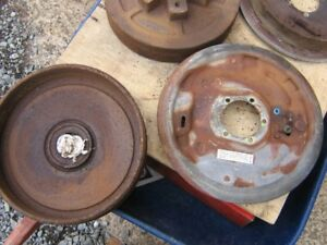 trailer brakes  12 in. & 10 in. reduced
