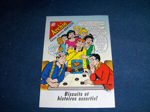 ARCHIE-FRENCH COMIC-BISCUITS VIAU MCCORMACKS-2000-MINIATURE