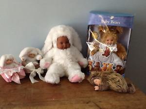 Bébé Anne Geddes poupées/Dolls