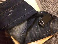 Dsquared Jeans denim, slim fit, designer brand new, bargain! Cheap