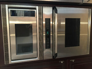 """DACOR wall oven and microwave 27"""""""