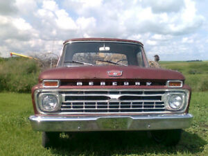 1966 Mercury Coustom Cab M100 Ford F100 352 FE 3-on-the-tree