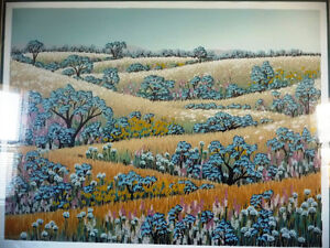"Signed Serigraph by Louise Dandurand ""Celebration of Summer"" Stratford Kitchener Area image 2"