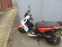 50cc kymco super 8 moped