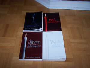 Laurie Faria Stolarz -4 THRILLERS -Red Blue White &Silver serie