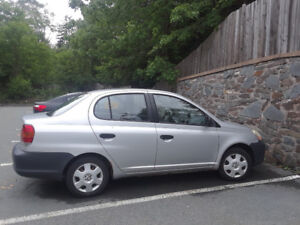 SOLD -2005 Toyota Echo - Low Kilometers - REDUCED to $600 OBO