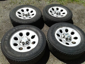 245 70 17 tires and rims for Silverado or Sierra