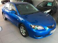 2004 MAZDA 3 TS Blue Manual Petrol