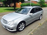 Mercedes-Benz c class 2.1 c220 CSI sports 2007 AUTOMATIC with warranted millage 96k.. 12 month mot..