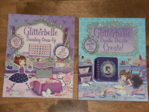 GLITTERBELLE ACTIVITY BOOKS  $4 for both *NEW*