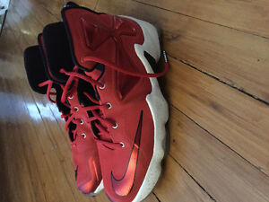 Lebron 13's Red/White Colorway