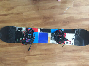 Ride board and K2 bindings