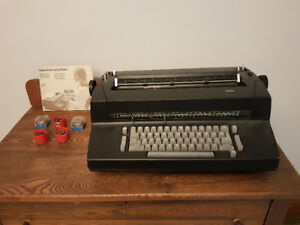 IBM Selectric II from the '60s