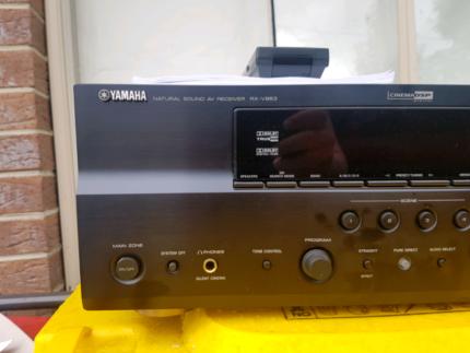 Yamaha RXV-863 7.2 Channel HDMI AV Receiver