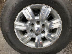 Rims with Tires 275/65R18