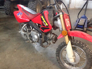 Honda XR50  Starter Bike