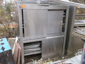 Stainless Steel Cupboards,  #856-14