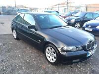 2002/02 BMW 316 1.8 ti SE Compact LONG MOT EXCELLENT RUNNER
