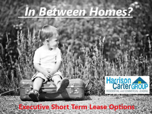 Short TERM Housing OPTIONS * HOMES * Condos* Apartments