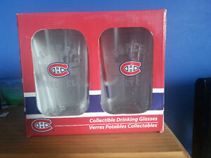 Montreal Canadiens 16oz Drinking Glasses - 2 Pack