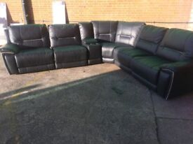 Harvey's HEDGEMOOR reclining corner sofa ex display model