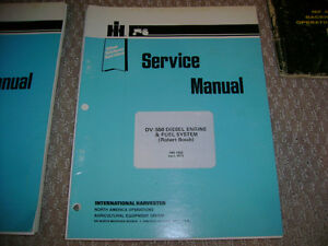 Farm Equipment Operator's and Service Manuals London Ontario image 6