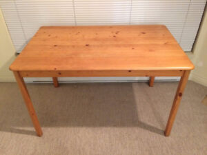 Solid Pine Dinner Table