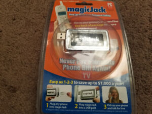 MagicJack VoIP PC to Phone Jack, for *Free Local & Long Distance
