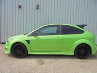 Ford Focus RS breaking for parts