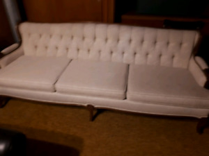 Hollywood Regency era couch and chair